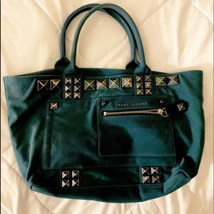 Marc Jacobs studded canvas tote